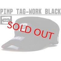 PIMP TAG WORK CAP BLACK