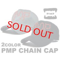 PIMP CHAIN CAP GRAY/BLACK