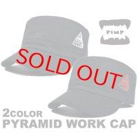 PYRAMID WORK WHITE/RED