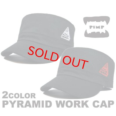 画像1: PYRAMID WORK WHITE/RED