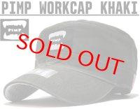 PIMP WORK CAP KHAKI