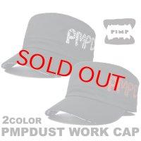 PIMP DUST-2 WORK CAP WHITE/RED