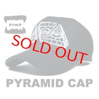 PIMP PYRAMID CAP BLACK