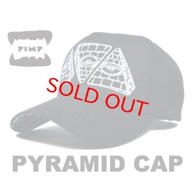 画像1: PIMP PYRAMID CAP BLACK